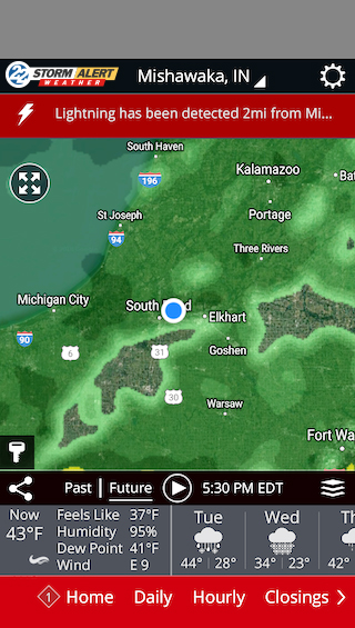 South Bend Weather App | News, Weather, Sports, Breaking News | WSBT