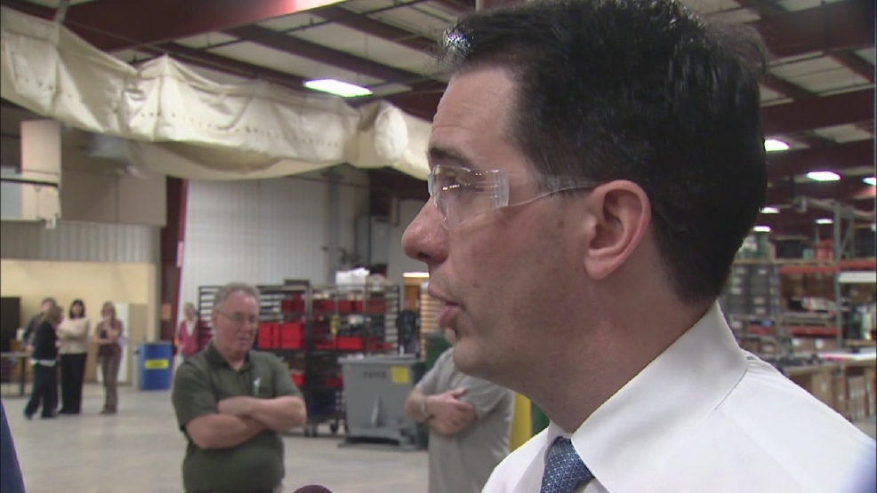 ONLINE EXTRA: Gov. Scott Walker talks jobs plan
