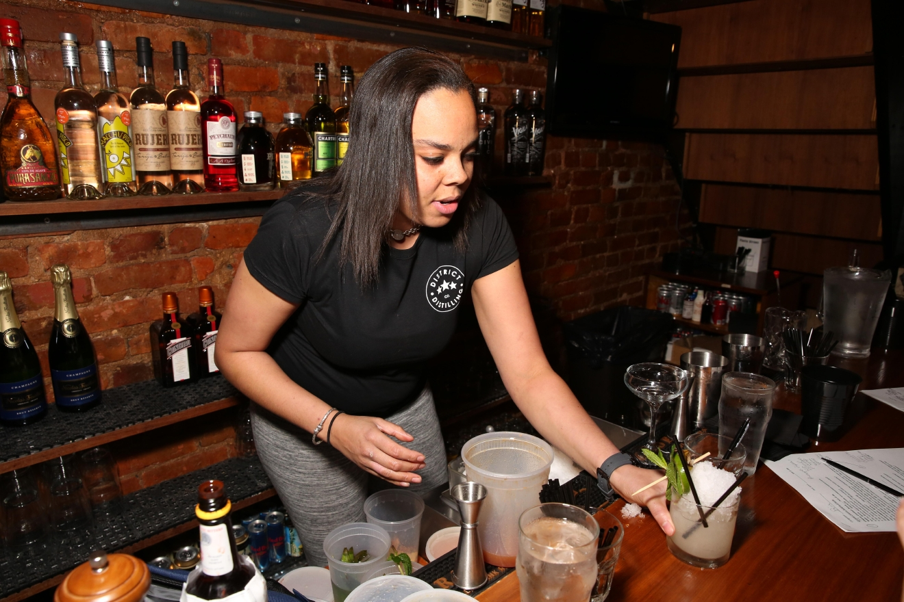 Erin Ivey of District Distilling. (Amanda Andrade-Rhoades/DC Refined)