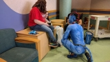 Cirque du Soleil cast visit kids at Dayton Children's Hospital