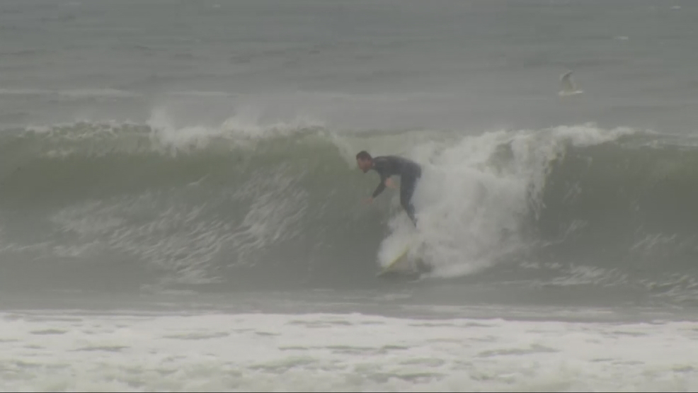 Humberto to strengthen, kicking up surf in Southern New England
