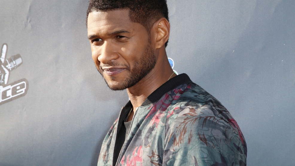 "Usher attends ""The Voice"" Red Carpet Event at The Sayers Club on Thursday, April 3, 2014 in Los Angeles. (Photo by Annie I. Bang /Invision/AP)"
