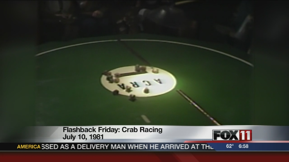 Flashback Friday Crab Racing