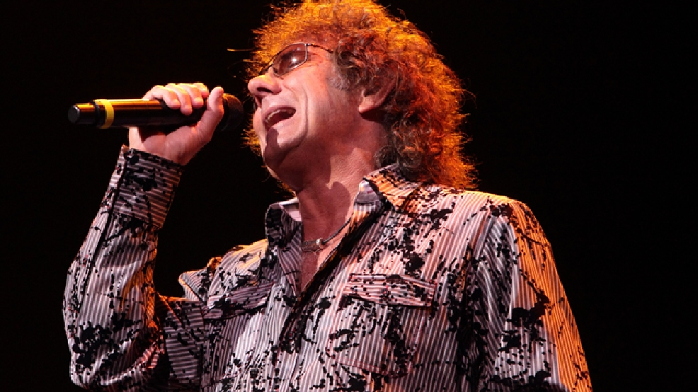 Mickey Thomas, singer for the classic-rock band Starship, performs at the American Music Theatre on Thursday, Jan. 31, 2013, in Lancaster, Pa. (Photo by Owen Sweeney/Invision/AP)