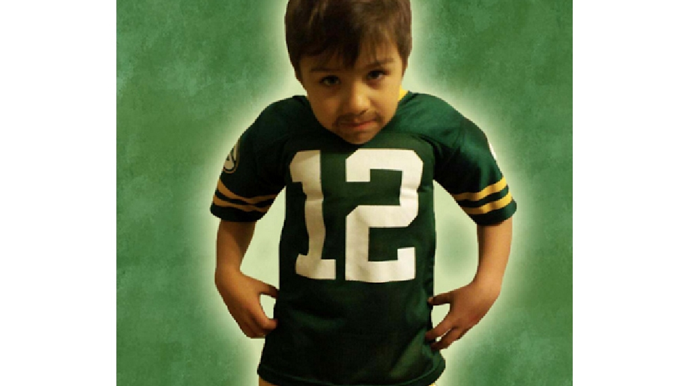 This photo of Daniel Stevens will be printed on the tickets for the Dec. 28 game against the Detroit Lions. (Green Bay Packers)