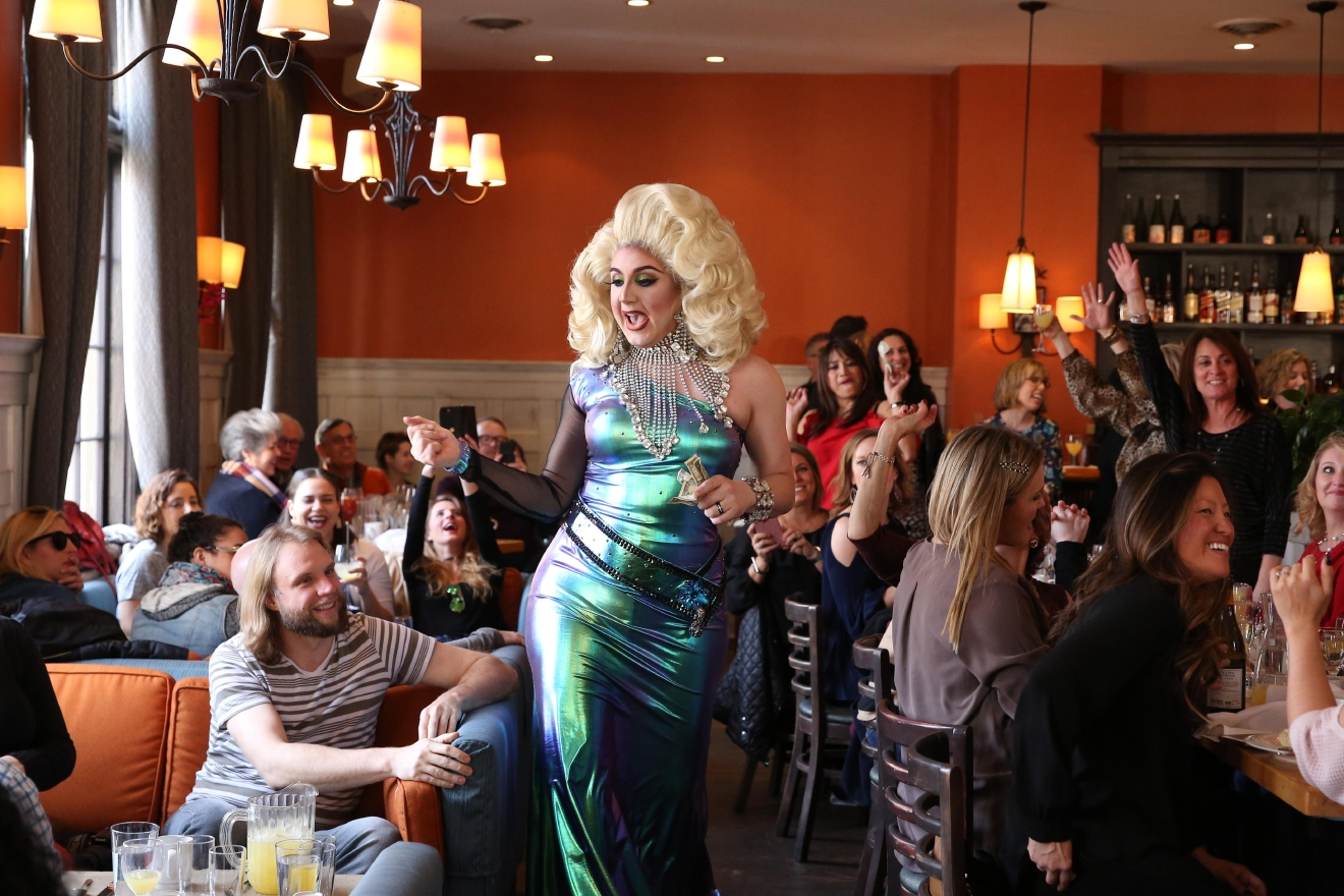 It's no secret that we're a fan of drag brunch, but Perry's in Adams Morgan features some incredible talent and great food.. (Amanda Andrade-Rhoades/DC Refined)