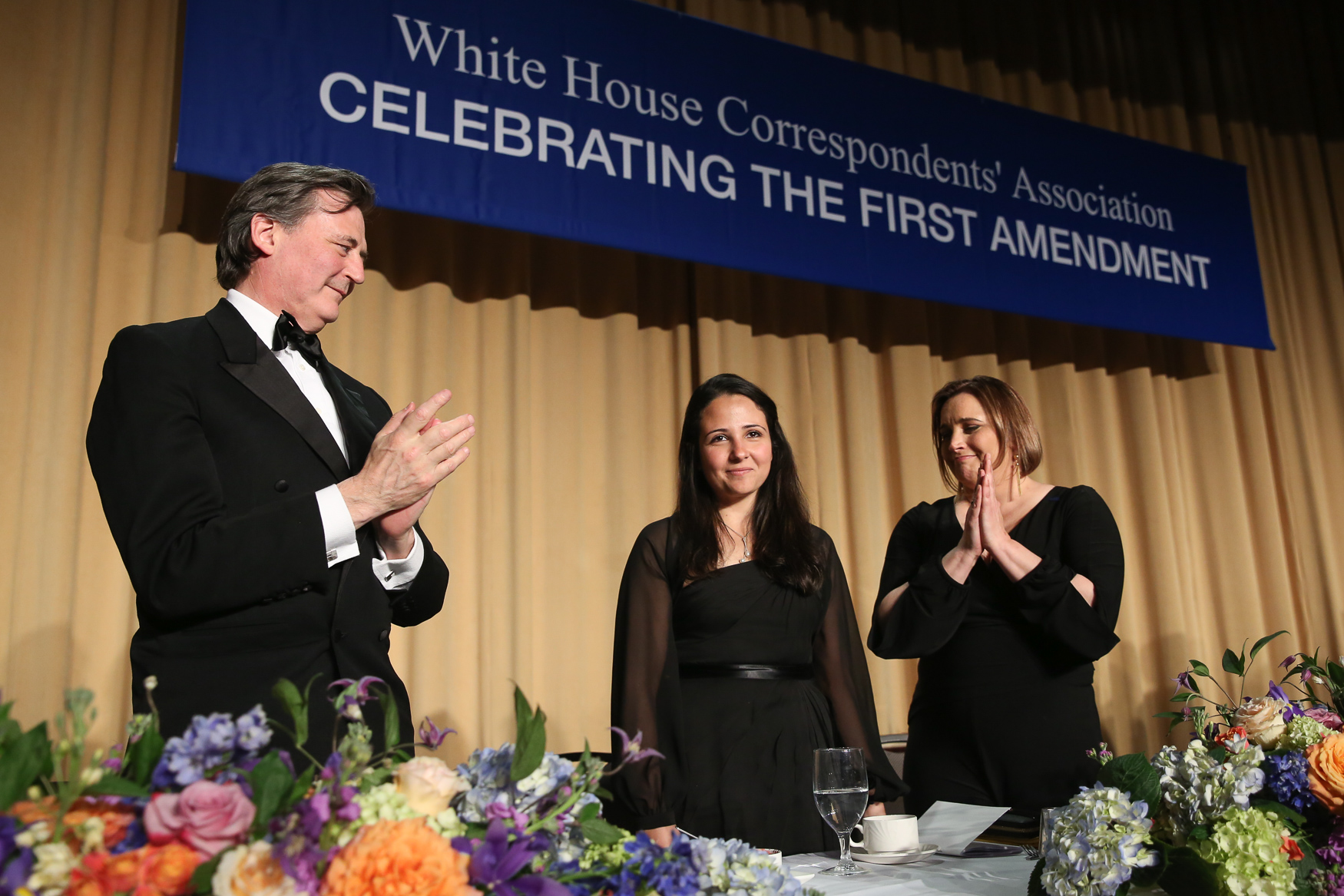 Human rights activist Aya Hijazi was honored at the dinner. (Amanda Andrade-Rhoades/DC Refined)