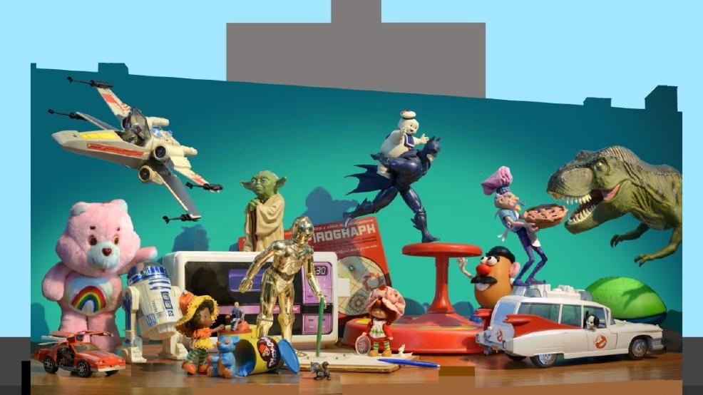 Artworks cincinnati plans mural tribute to kenner toys wkrc for Cincinnatus mural