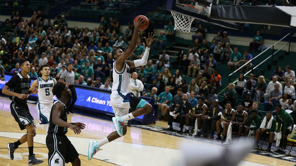 UNC Wilmington's Chris Flemmings, a former walk-on, is averaging 15.7 points and 5.6 rebounds per game. (Photo courtesy UNCW Athletics)