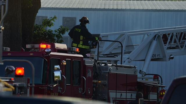 Crews respond to fire at Honee Bear Canning in Lawton