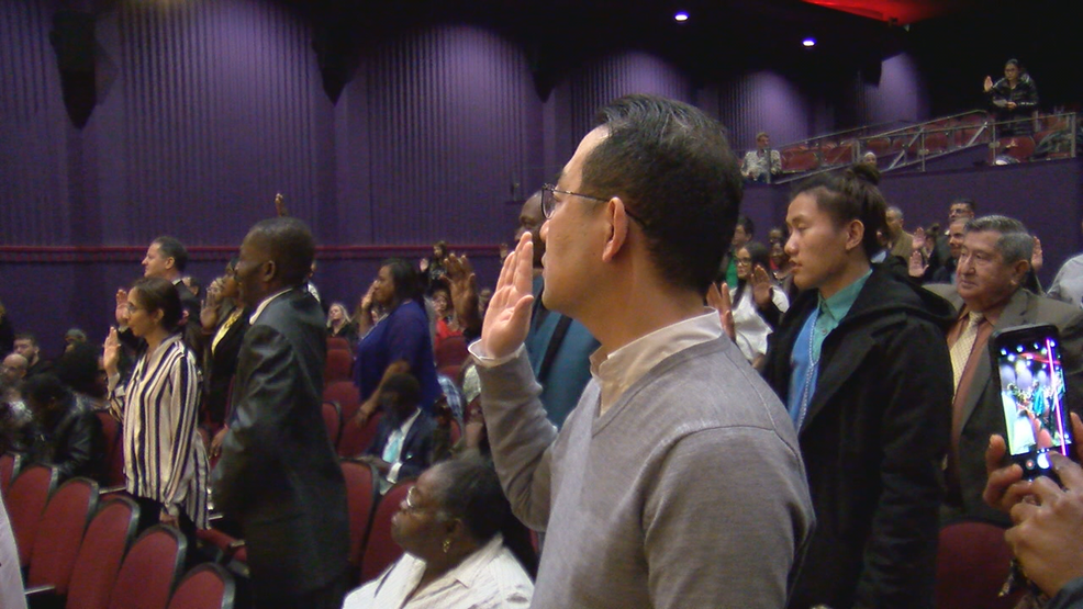 Dozens sworn in as U S  citizens at George Eastman Museum