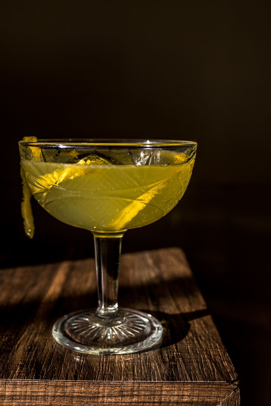 New French 75: vodka, St-Germain, limoncello, lemon, and champagne / Image: Catherine Viox{ }// Published: 1.23.20