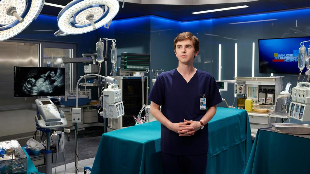 "ABC's ""The Good Doctor"" stars Freddie Highmore as Dr. Shaun Murphy. (ABC/Bob D'Amico)"