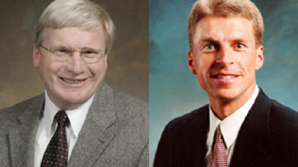 Glenn Grothman, left, and Joe Leibham (Wisconsin State Senate)