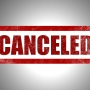 Church, event cancelations