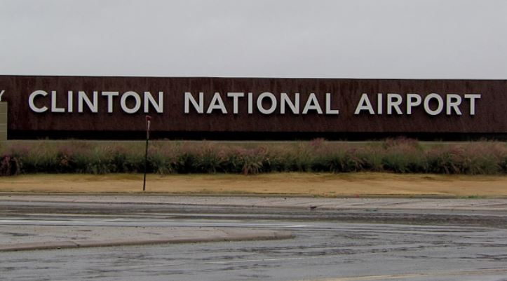 No one was injured after the breaks reportedly failed to work on a small aircraft that was scheduled to land overnight at the Clinton National Airport. (KATV){ }