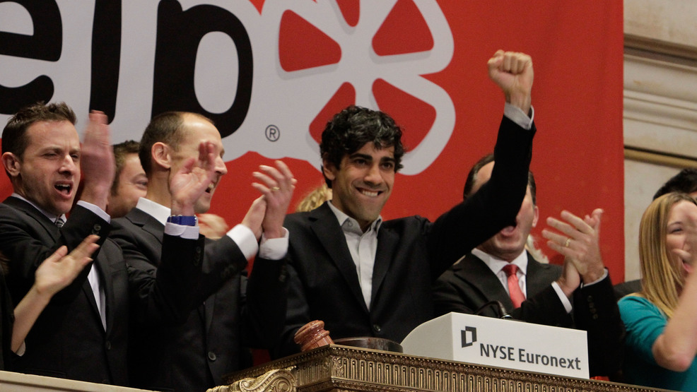 yelp nyc office. exellent office file  in this march 2 2012 file photo jeremy stoppelman right center  yelp cofounder and ceo salutes during opening bell ceremonies of the new york  with nyc office h