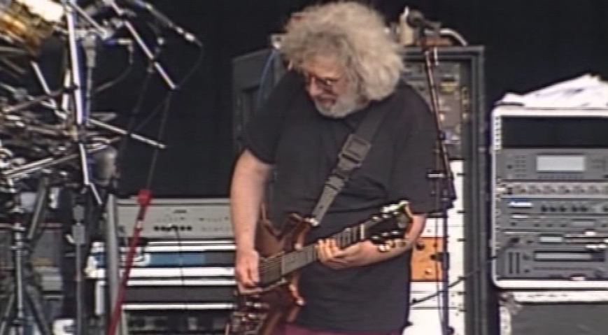 Grateful Dead at Autzen Stadium (From archive video)