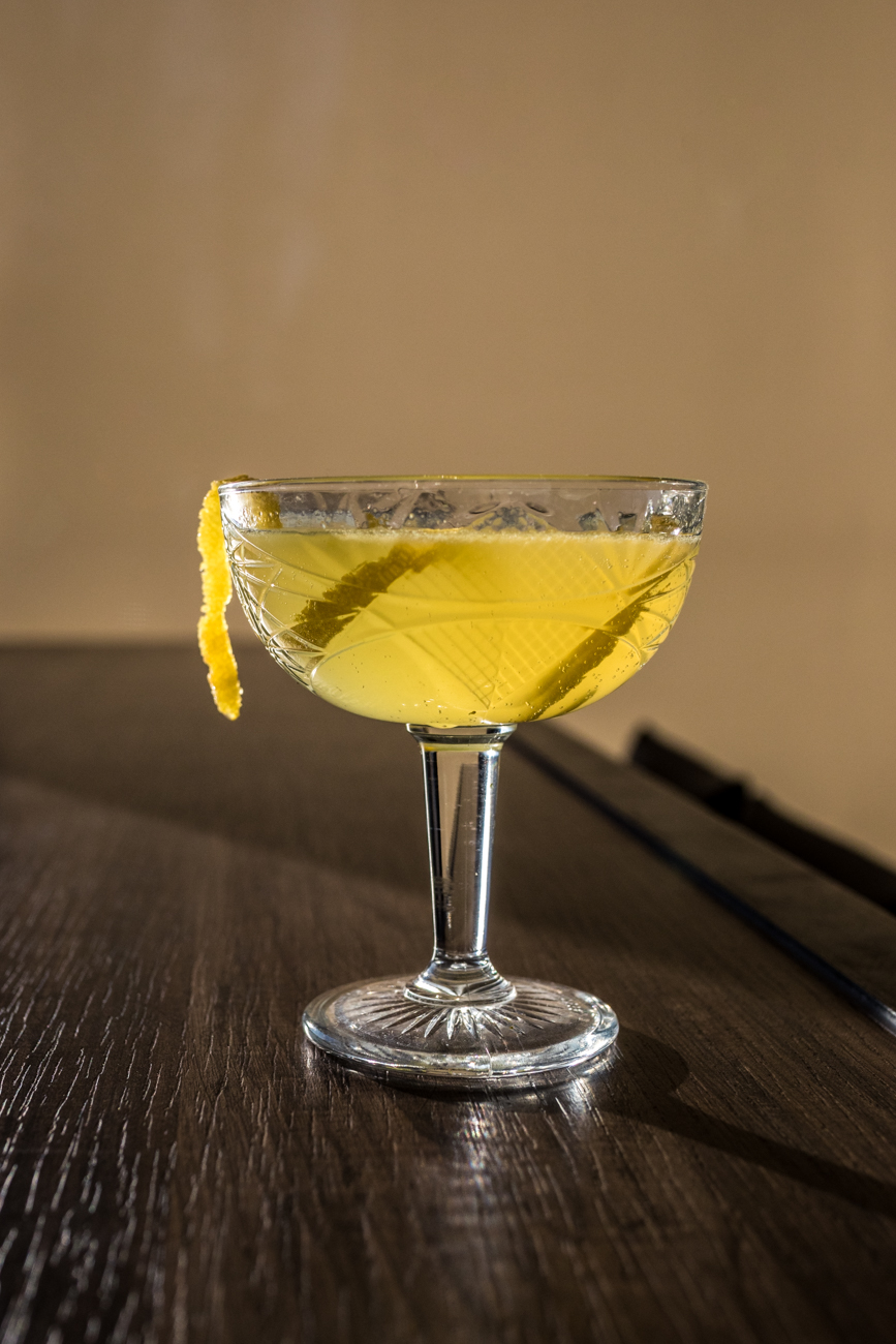 New French 75: vodka, St-Germain, limoncello, lemon, and champagne / Image: Catherine Viox // Published: 1.23.20