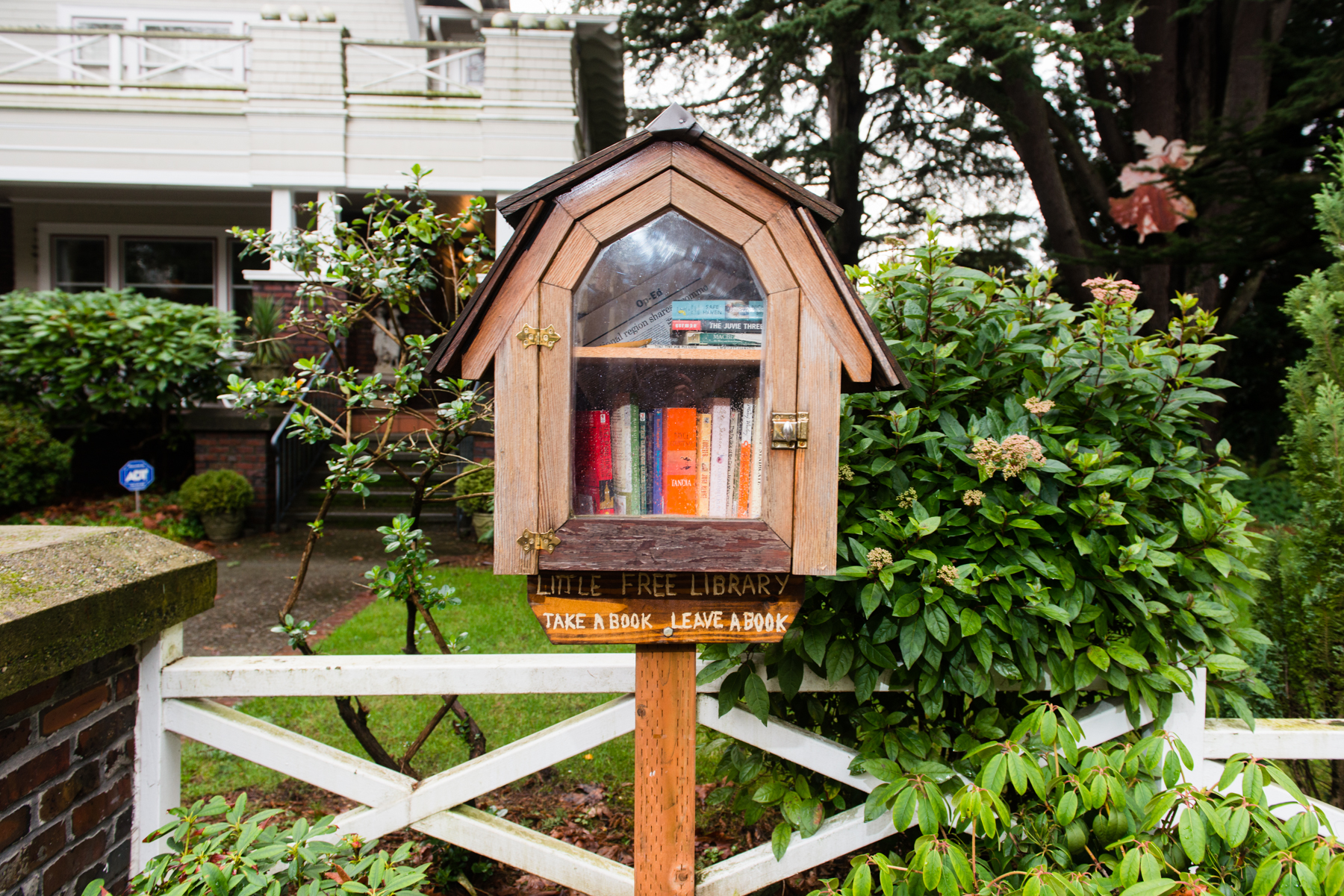 Have you ever seen a little free library? They're easy to miss if you're not looking closely, but once you've seen a couple, you'll begin spotting them everywhere. Queen Anne alone is home to over 30! Seattle is a big book-buying town, so it should come as no surprise that this non-profit operation is extremely popular. The cardinal rule is simple: take a book, return a book. Little Free Library's mission is to offer and facilitate book access for communities throughout the world. According to their site, millions of books are exchanged around the world annually.  The magic of LFL is that no two libraries are quite the same. Click on for our roundup of Seattle's cutest Little Free Library book hubs. (Image: Chona Kasinger / Seattle Refined)