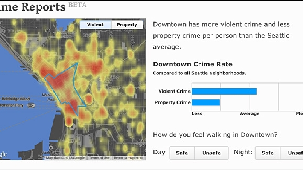 How crime-ridden is your neighborhood? Local company has answers | KOMO