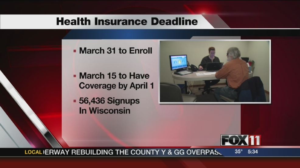 Deadlines approaching for health insurance coverage