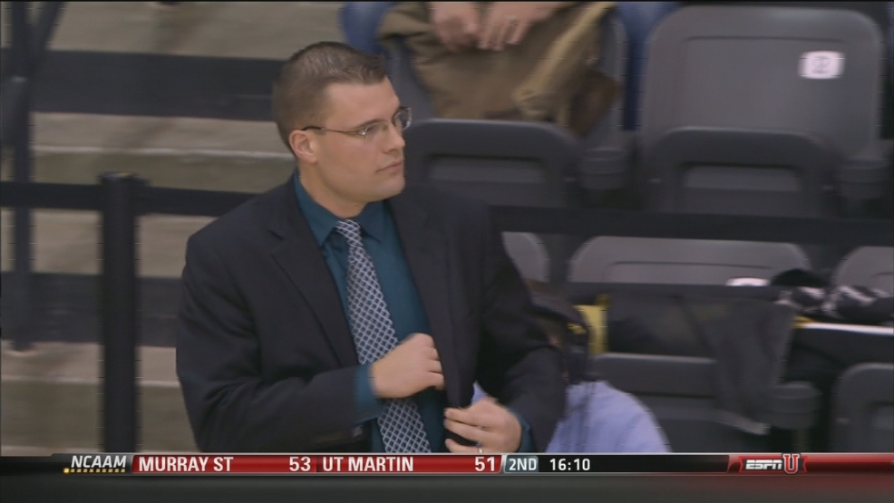 Green Bay Phoenix head coach Brian Wardle watches his team beat Oakland on Thursday night.