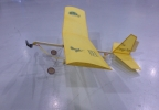 Model airplane on display at the 11th annual Family Flight Fest at the EAA AirVenture Museum in Oshkosh