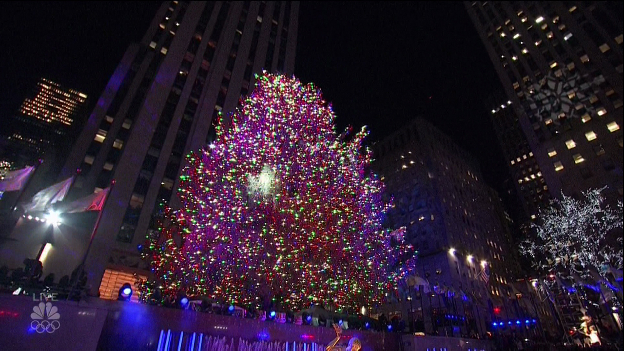 'Christmas in Rockefeller Center&quot; as seen on NBC on Nov. 29, 2017. (Supplied by WENN.com){&amp;nbsp;}<p></p>