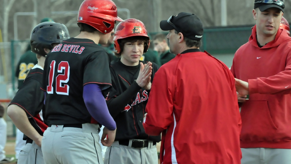 So far, the merger between Green Bay East and Green Bay West baseball teams has gone well. (Doug Ritchay?WLUK)
