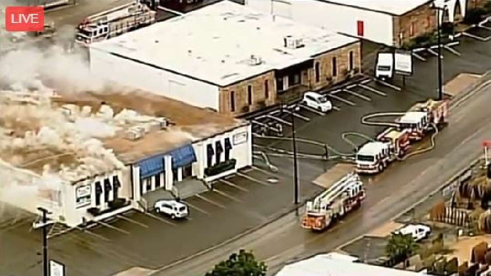 Fire Tears Through Two North Side Businesses Woai
