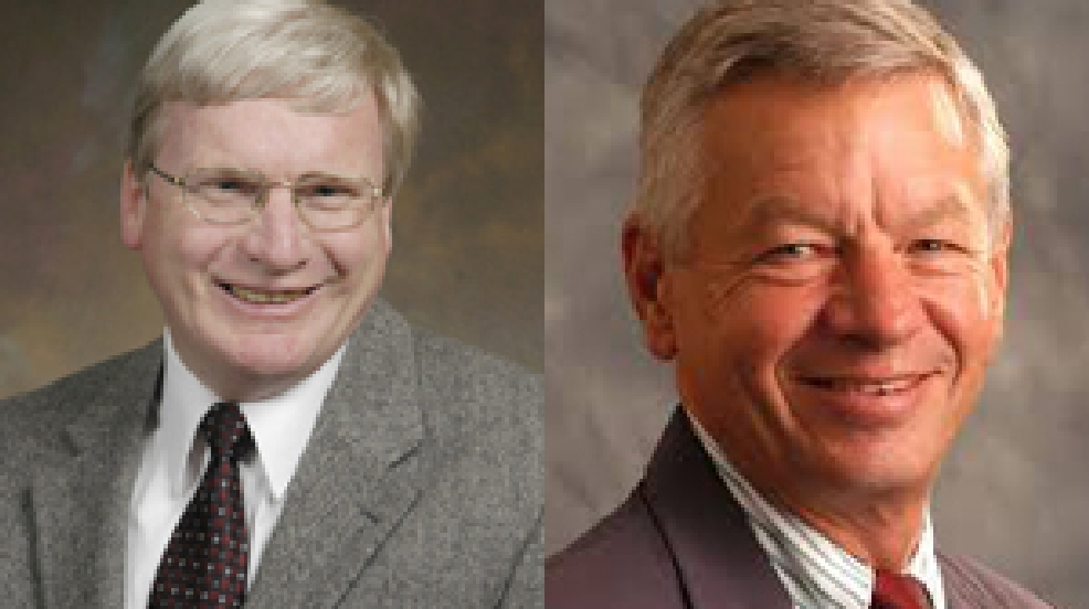 State Sen. Glenn Grothman, left, and US Rep. Tom Petri