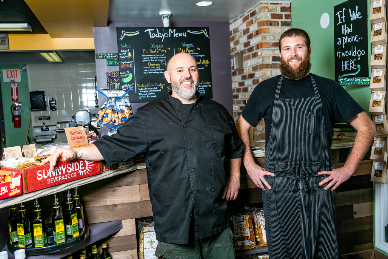 Ethan Snider, owner, and Josh Cunningham, manager / Image: Amy Elisabeth Spasoff // Published: 9.29.18