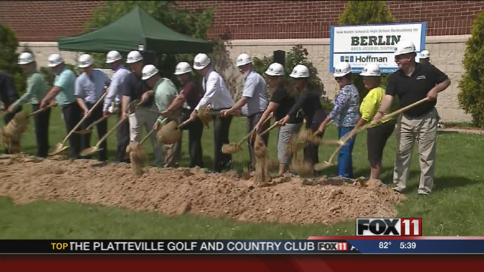 Groundbreaking for new Berlin Middle School
