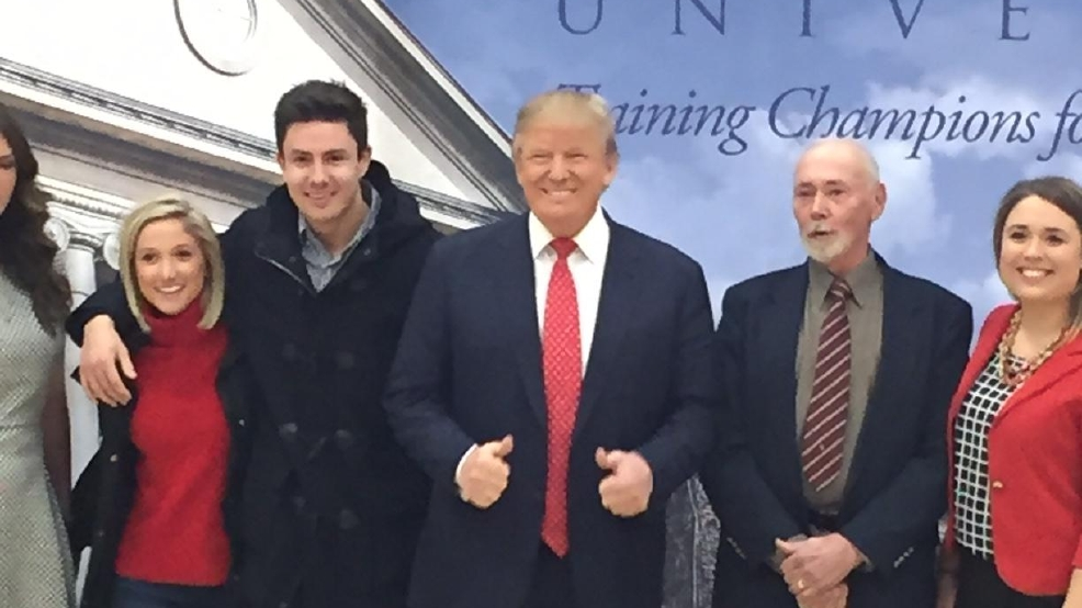 Trump speaks to full house at Liberty University | WLUK