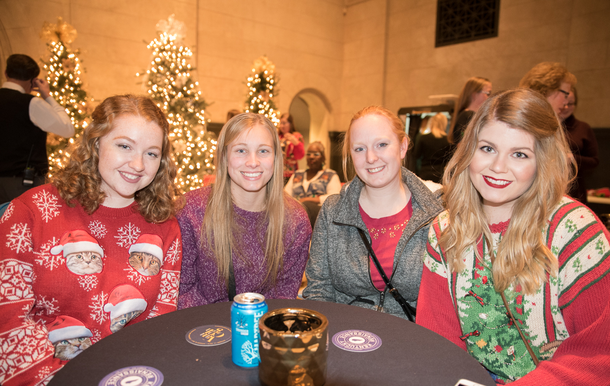 Chelsea Finn, Melissa Rosely, Sarah Kroeger, and Sarah Lackore / Image: Sherry Lachelle Photography // Published: 12.23.16