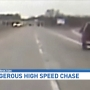 Dash cam shows high-speed chase after shoplifting incident