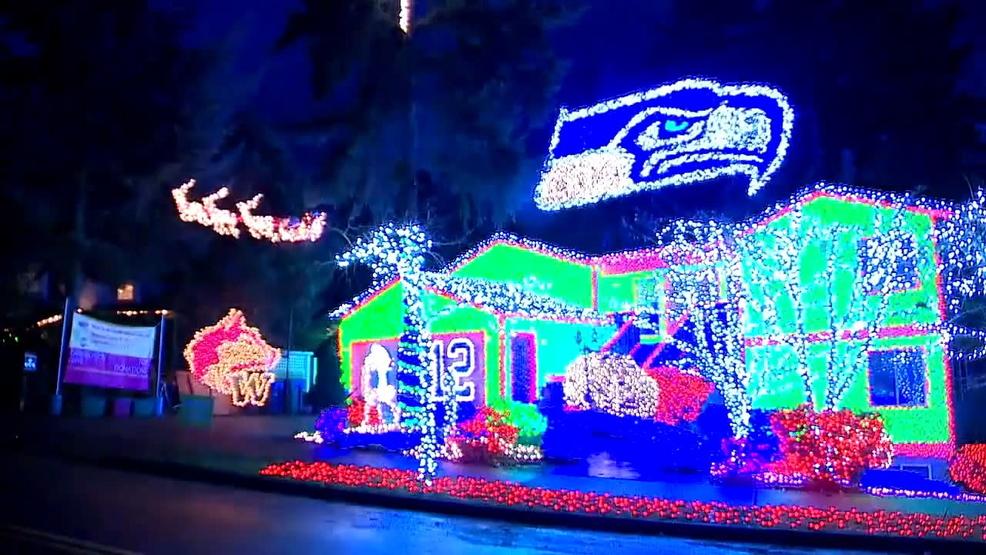 Hawk House holiday display makes return to Kirkland | KOMO