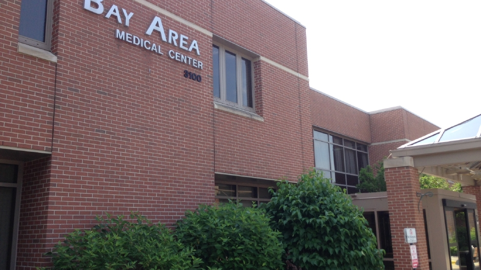 The outside of Bay Area Medical Center in Marinette is seen Fri, July 11, 2014. (WLUK/Andrew LaCombe)