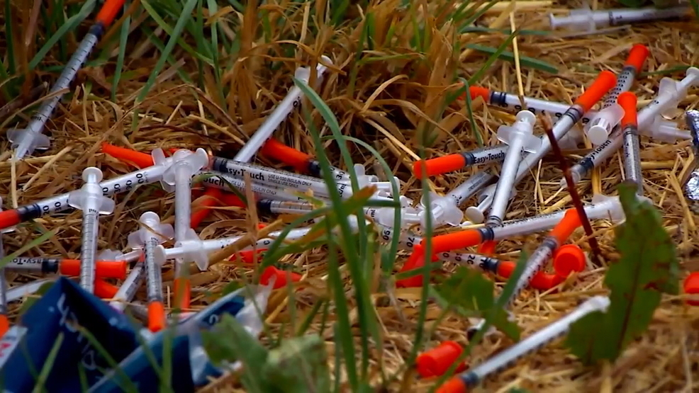 Telling sign of heroin epidemic: Seattle-area county runs out of needle cleanup kits