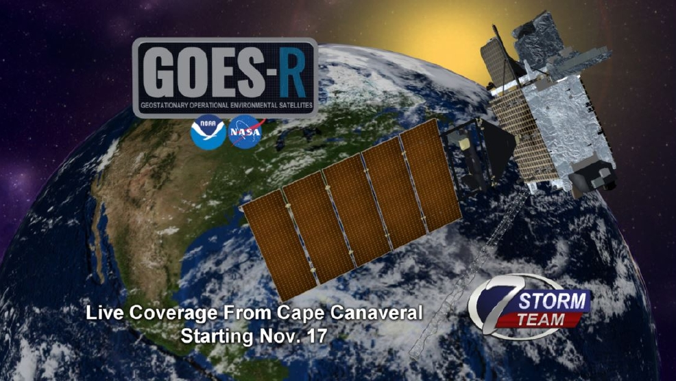 KHQA Exclusive Nick Goes To NASA For GOESR Weather Satellite - World weather satellite live