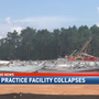 South Alabama covered practice facility construction collapses