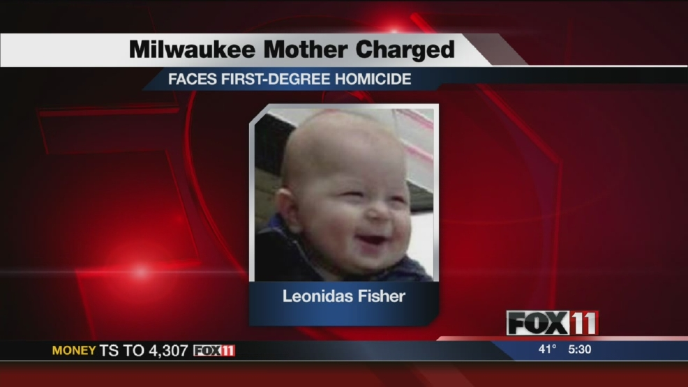 Milwaukee woman charged with smothering son