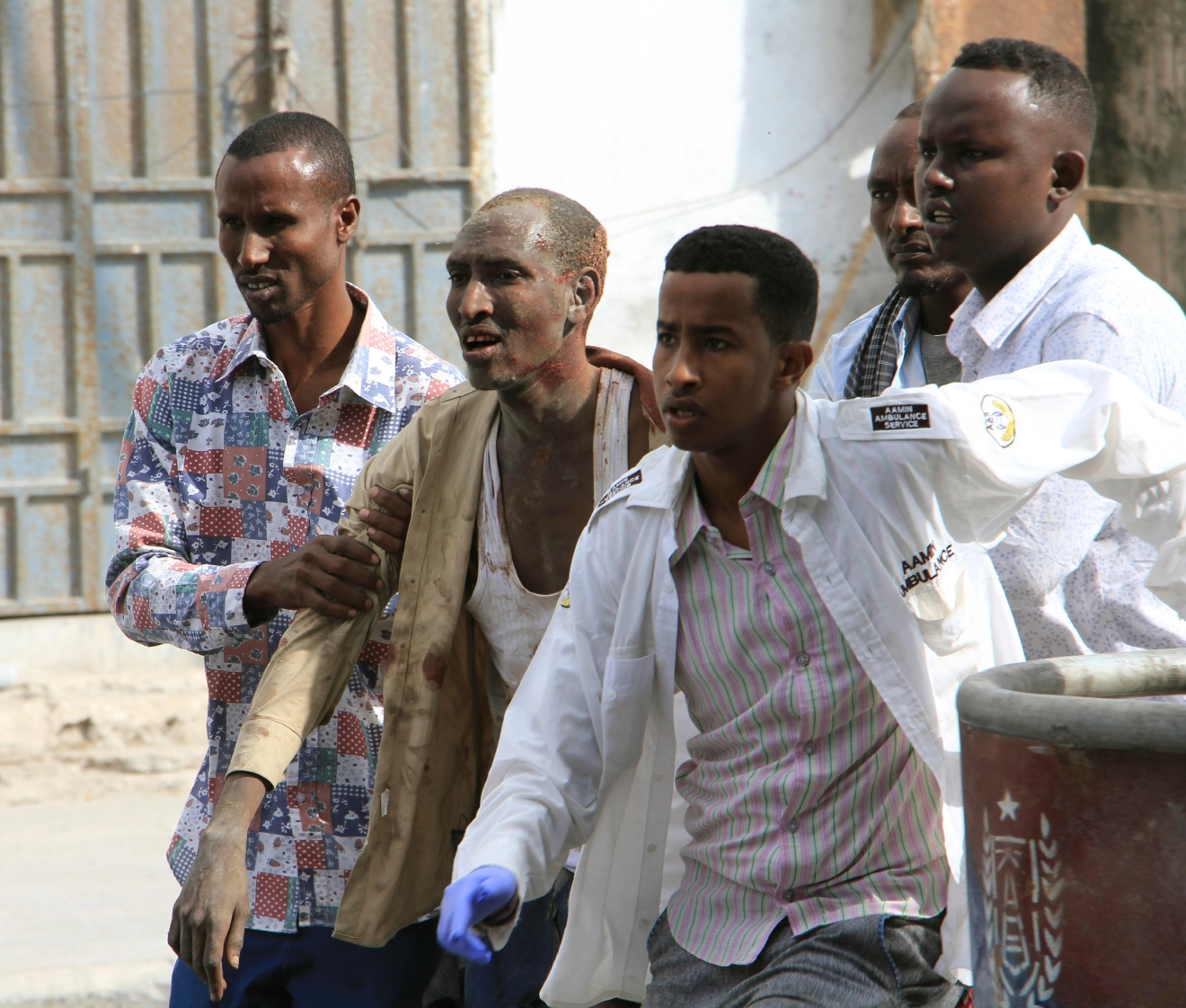 Deputy Killed 4 Others Wounded In Ambush Attack: Extremist Gunmen Storm Hotel In Somali Capital, At Least 8