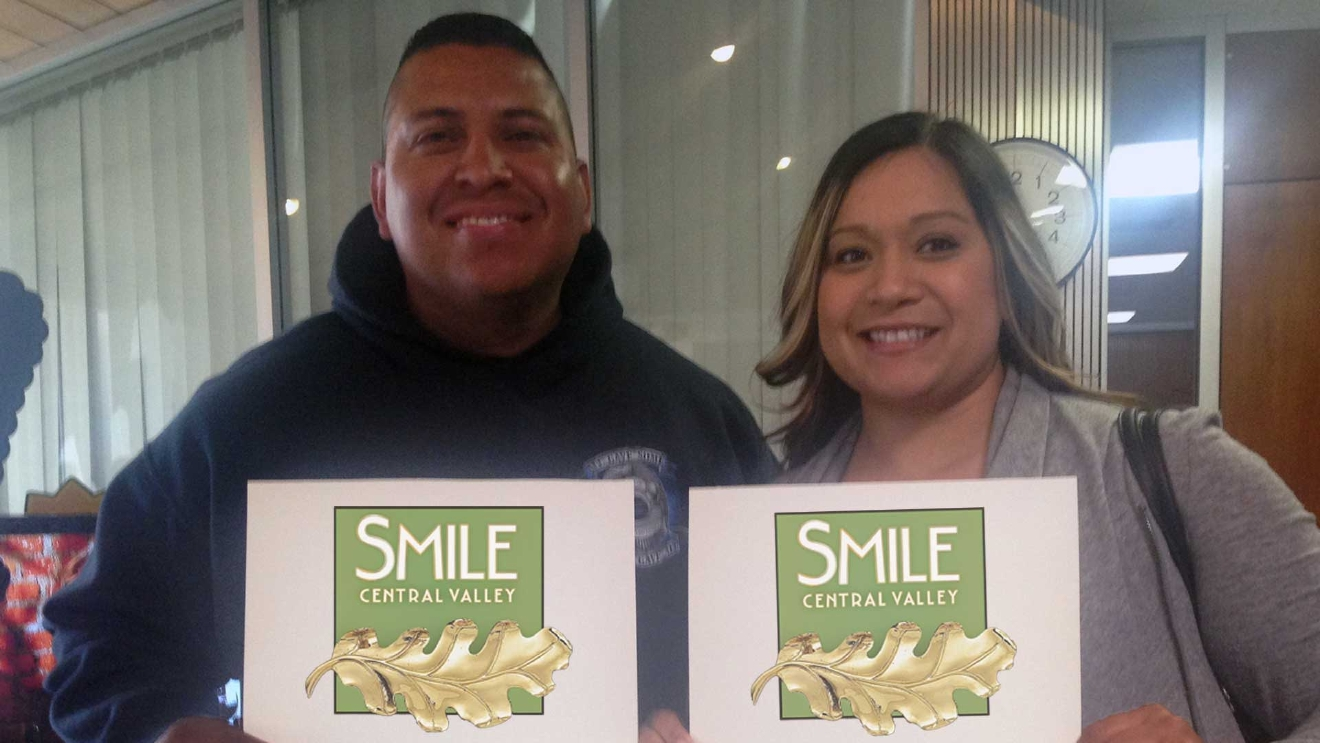 Gift certificates for In-Home Custom Teeth Whitening from Smile Central Valley
