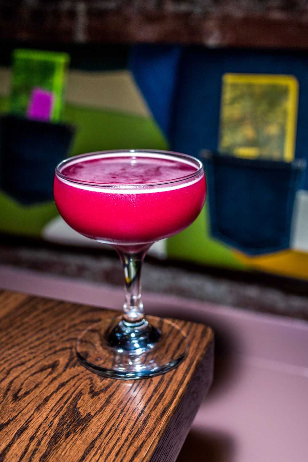 Betelgeuse: gin, beets, dill, lemon, and Dijon / Image: Catherine Viox{ }// Published: 9.19.19