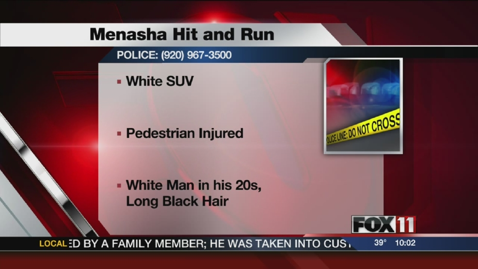 Menasha Hit and Run