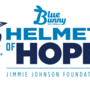 Blue Bunny Ice Cream teams up with NASCAR driver Jimmie Johnson for Helmet of Hope