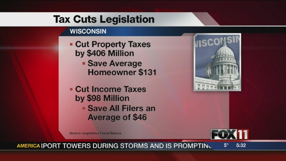 Tax cut proposals move on to Assembly.