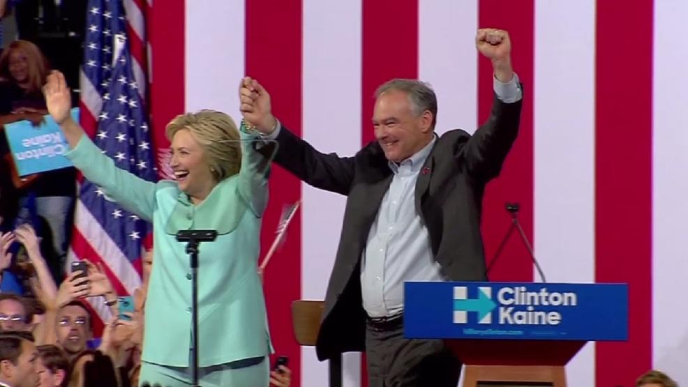 Virginia Sen. Tim Kaine takes national spotlight as Hillary Clinton's VP pick